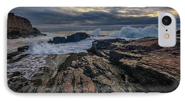 Dawn At Bald Head Cliff IPhone Case by Rick Berk