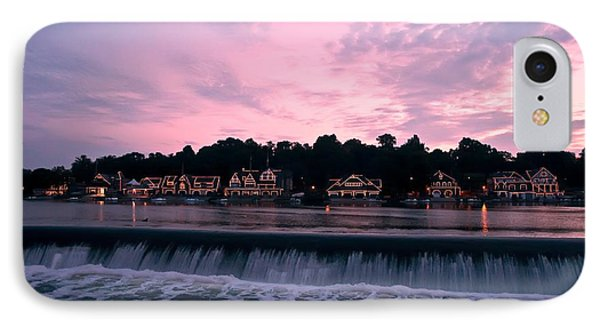 Dawn At Boathouse Row IPhone Case