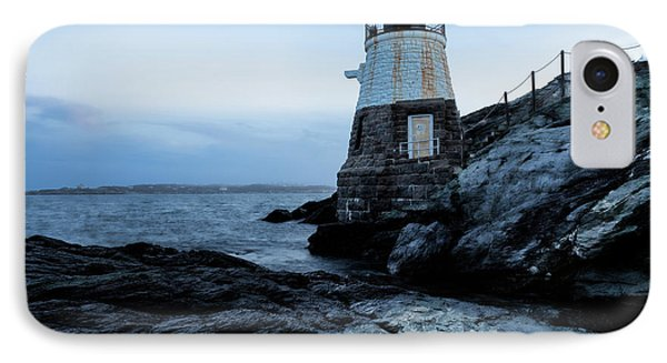 IPhone Case featuring the photograph Dawn At Castle Hill Lighthouse by Andrew Pacheco