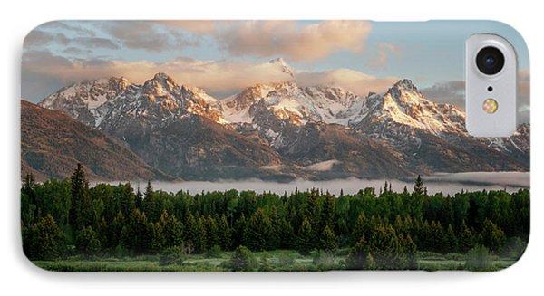 Dawn At Grand Teton National Park IPhone Case by Brian Harig