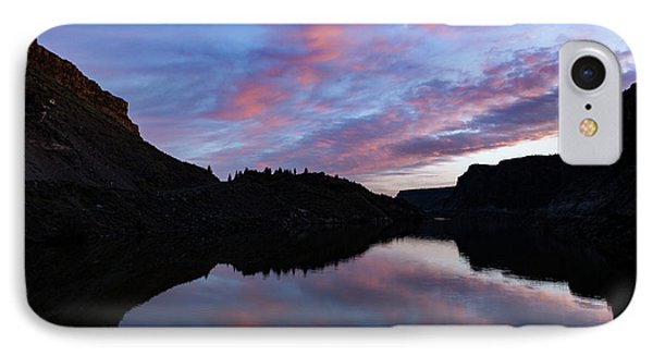 IPhone Case featuring the photograph Dawn At Lake Billy Chinook by Cat Connor