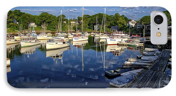 Dawn At Perkins Cove - Maine IPhone Case by Steven Ralser