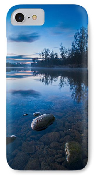Dawn At River IPhone Case by Davorin Mance