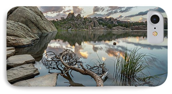 IPhone 7 Case featuring the photograph Dawn At Sylvan Lake by Adam Romanowicz