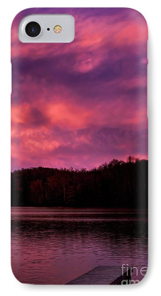 IPhone Case featuring the photograph Dawn At The Dock by Thomas R Fletcher