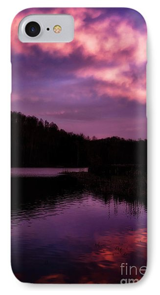 IPhone Case featuring the photograph Dawn Big Ditch Wildlife Management Area by Thomas R Fletcher