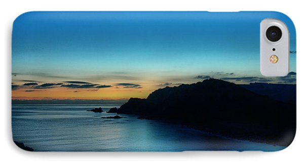Dawn Blue In Mediterranean Island Of Minorca By Pedro Cardona IPhone Case