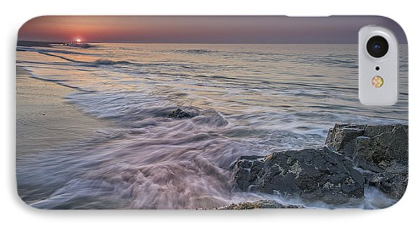 Dawn Breaks At Cape May IPhone Case