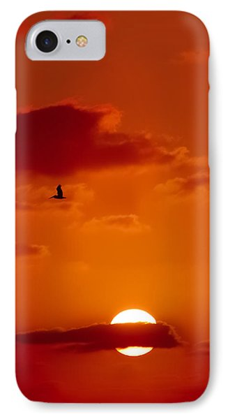 Dawn Flight Phone Case by DigiArt Diaries by Vicky B Fuller