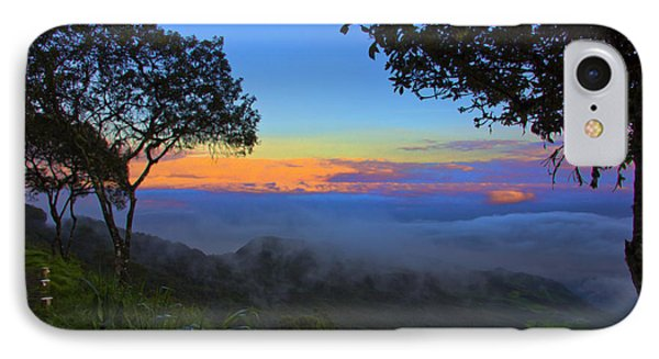 Dawn In The Cajas Range Of The Andes IPhone Case by Al Bourassa