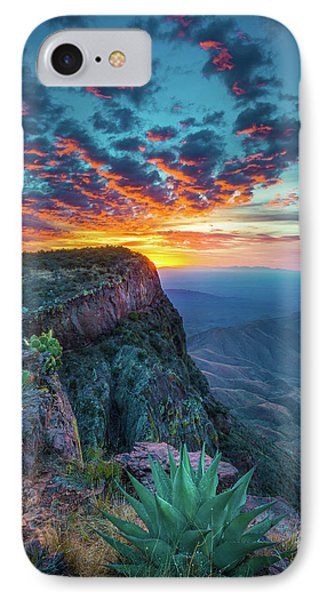 Dawn In The Chisos IPhone Case by Inge Johnsson