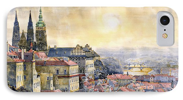 Dawn iPhone 7 Case - Dawn Of Prague by Yuriy Shevchuk