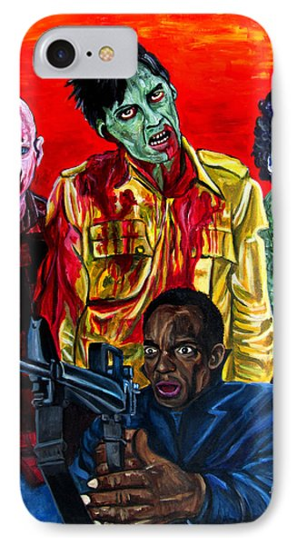Dawn Of The Dead IPhone Case by Jose Mendez