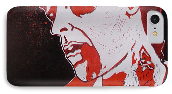 Dawn Of The Dead Print 1 IPhone Case by Sam Hane