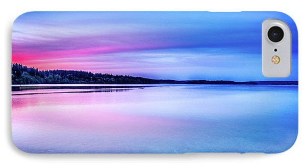 IPhone Case featuring the photograph Dawn On Bainbridge Island by Spencer McDonald
