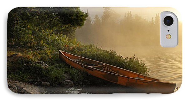 Dawn On Boot Lake IPhone Case by Larry Ricker
