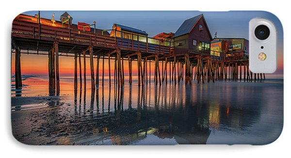 Dawn On Old Orchard Beach IPhone Case