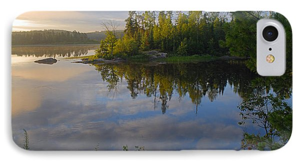 Dawn On The Basswood River IPhone Case