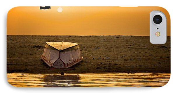 Dawn On The Ganga IPhone Case by Valerie Rosen