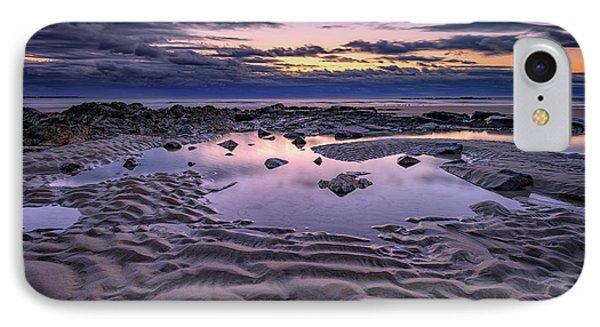 Dawn On Wells Beach IPhone Case by Rick Berk