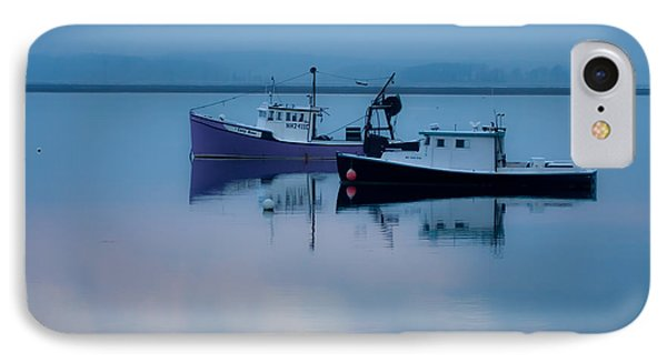 IPhone Case featuring the photograph Dawn Rising Over The Harbor by Jeff Folger
