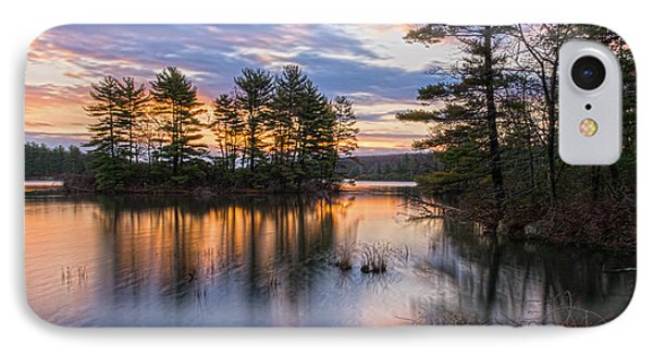 Dawn Serenity At Lake Tiorati IPhone Case