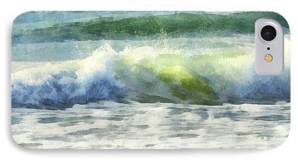 IPhone Case featuring the digital art Dawn Wave by Francesa Miller