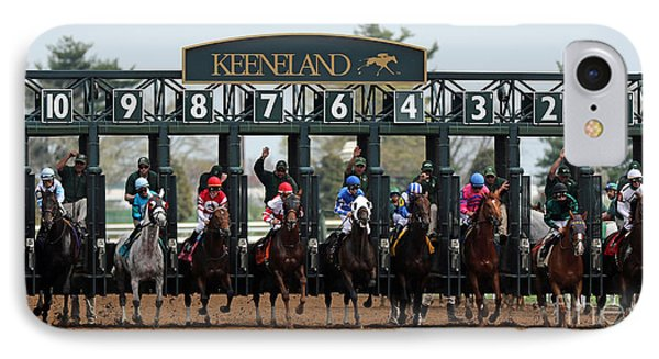 Keeneland Race Day IPhone Case