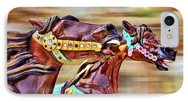 Day At The Races Phone Case by Evelina Kremsdorf
