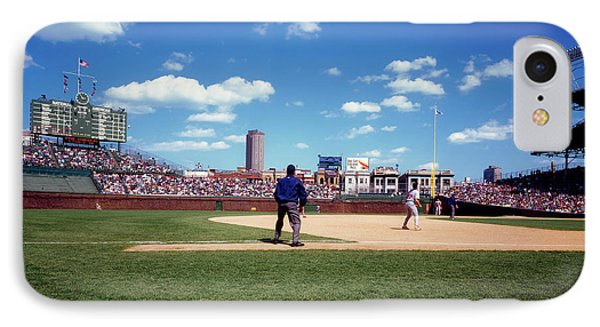 Day Game At Wrigley 1990s IPhone Case by L O C