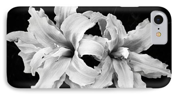 Day Lilies #noir #iphoneonly #iphone6 IPhone Case