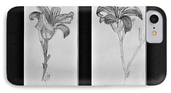 Day Lilies IPhone Case