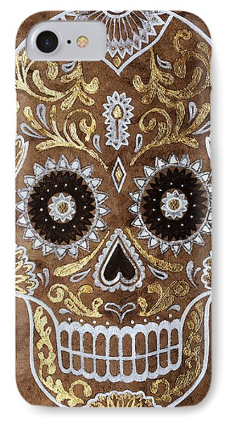 IPhone Case featuring the painting Day Of Death by J- J- Espinoza