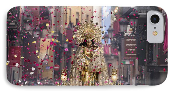 Day Of The Virgen De Los Desamparados IPhone Case by For Ninety One Days