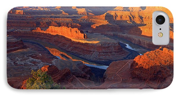 Daybreak At Dead Horse Point. IPhone Case by Johnny Adolphson