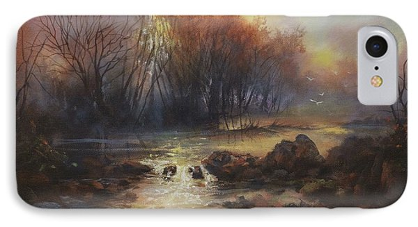 Daybreak Willow Creek IPhone Case by Tom Shropshire