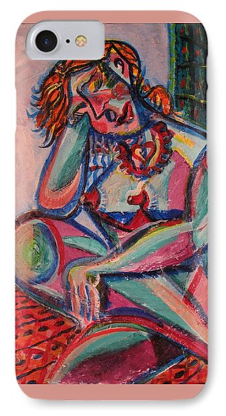 Daydreaming In Color Phone Case by Dennis Tawes