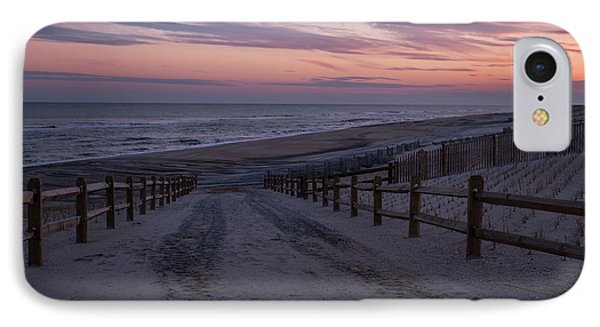 Days End Beach Haven New Jersey  IPhone Case by Terry DeLuco