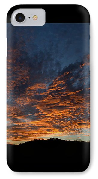 Day's Glorious Ending Phone Case by Karen Musick