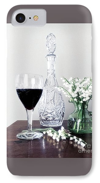 Days Of Wine And Lilies IPhone Case