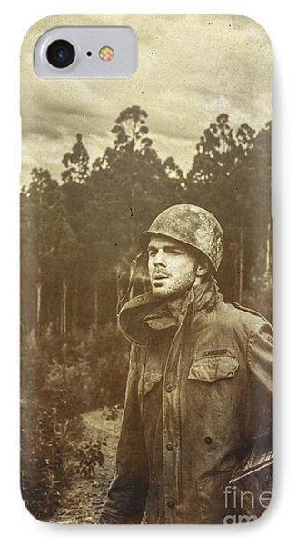 Daze Of War IPhone Case by Jorgo Photography - Wall Art Gallery