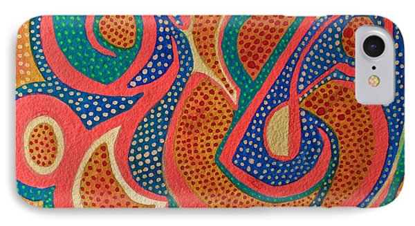 Dotted Motif IPhone Case