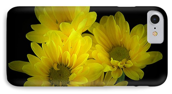 Dazzling Yellow IPhone Case by Ray Shrewsberry