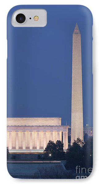 Dc Landmarks At Twilight Phone Case by Clarence Holmes