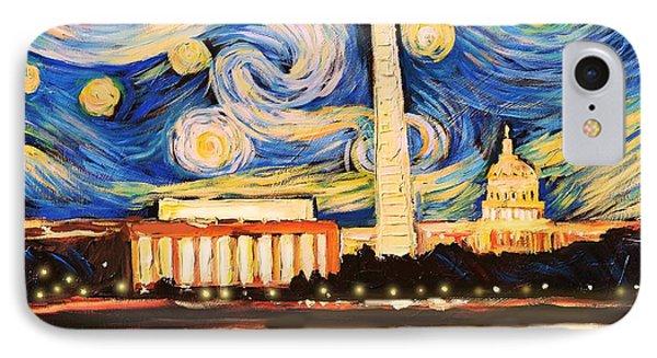 D.c. Starry Night IPhone Case