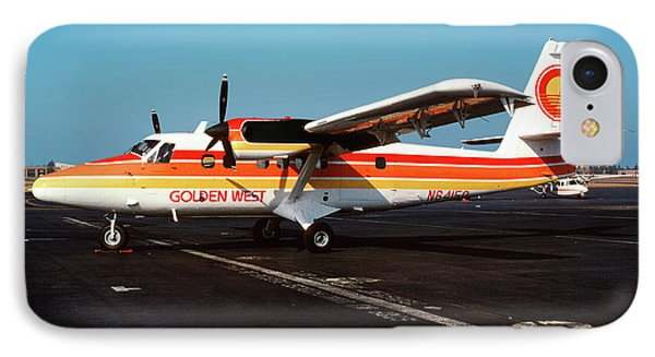 De Havilland Canada Dhc-6 Twin Otter, N64150 IPhone Case by Wernher Krutein