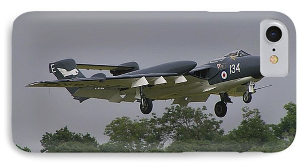 IPhone Case featuring the photograph De Havilland Dh110 Sea Vixen  by Tim Beach