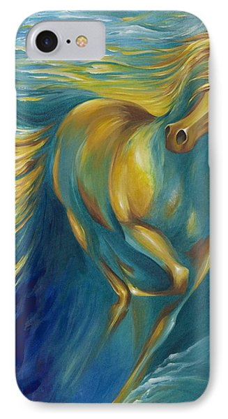 IPhone Case featuring the painting De La Mare by Dina Dargo