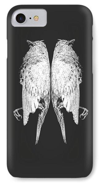 Dead Birds Tee White IPhone Case