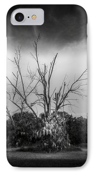 Dead End B/w IPhone Case by Marvin Spates